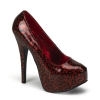 TEEZE-37 Red/Cheetah Patent